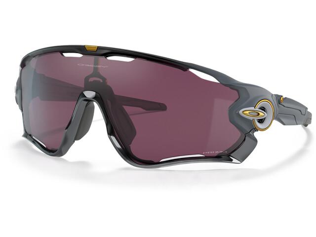 Oakley Jawbreaker Sunglasses Men black grey fade/prizm road black